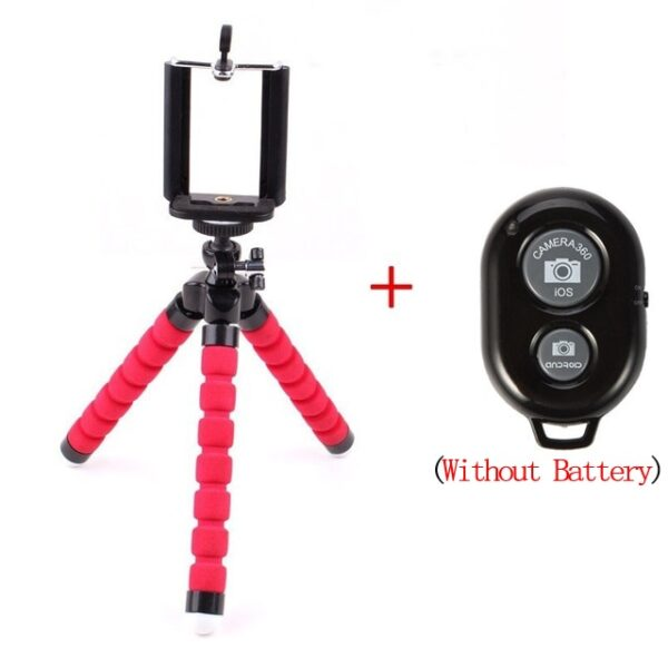 Mobile Phone Holder Flexible Sponge Octopus Tripod Bracket For Smartphone Camera Selfie Stand Monopod Support Photo Control