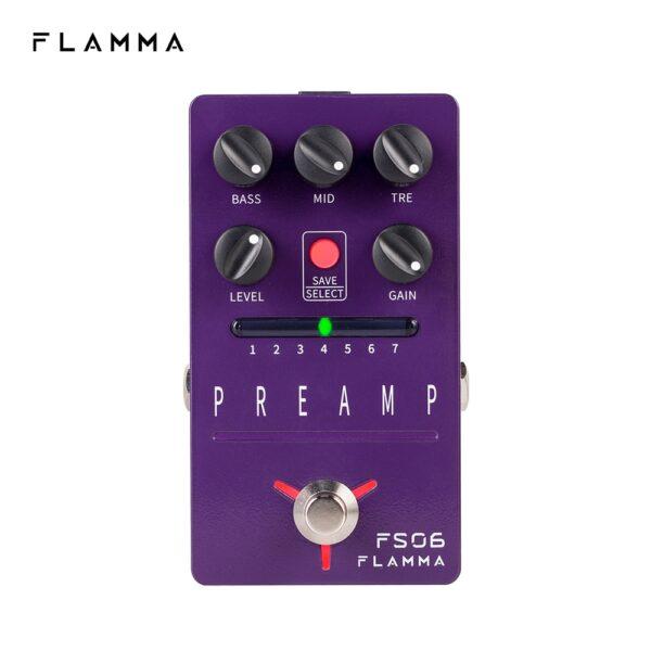 FLAMMA FS06 Digital Preamp Guitar Amp Pedal