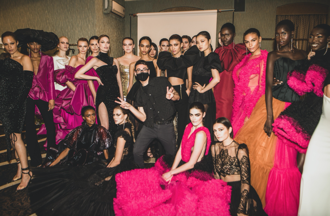 Christian Siriano Reminds Us Fashion Is a Dream With Fall/Winter 2021 Show Featuring Mountain-Inspired Fashion, Beautyrest Mattresses and thredUp Clothing