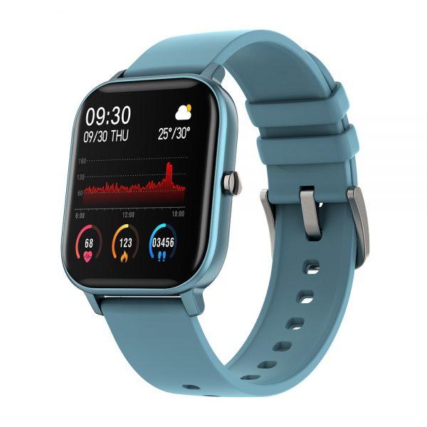 Smart Watch Men Full Touch Fitness Tracker Blood Pressure