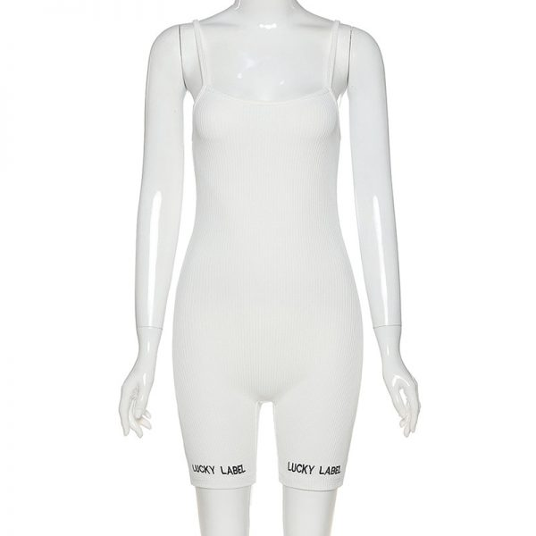 Women Short Jumpsuit Sleeveless Sexy Rompers