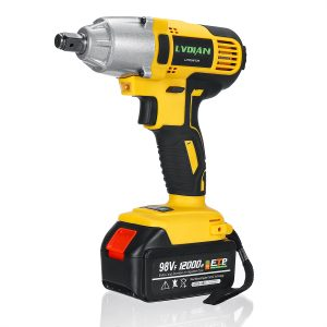 Cordless Electric Impact Wrench Drill Screwdriver 110-240V