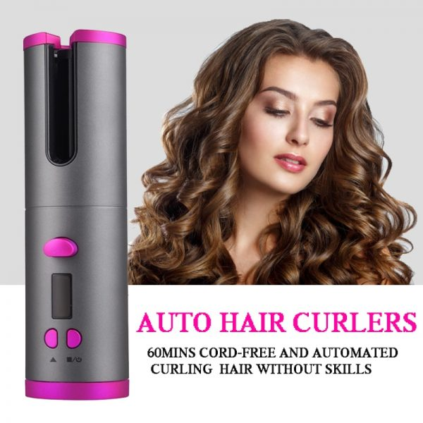USB Automatic Hair Curler Hair Curling Wand