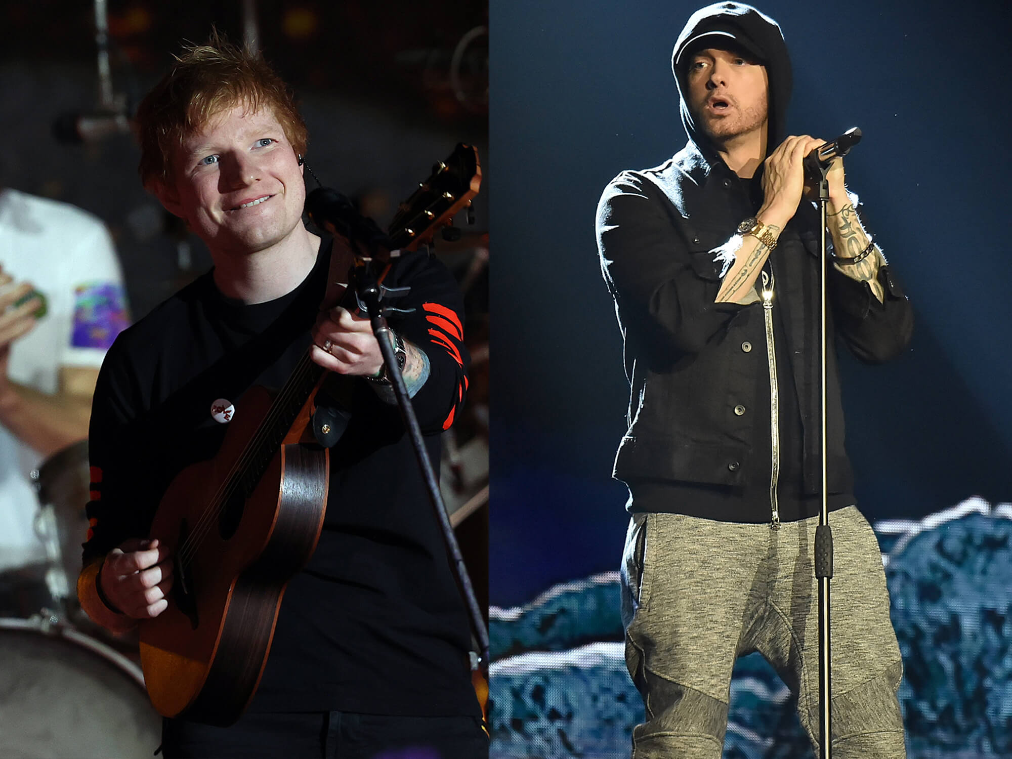 """Ed Sheeran on how he bonded with Eminem through cassette collecting: """"It's like a very cool pen-pal thing"""""""